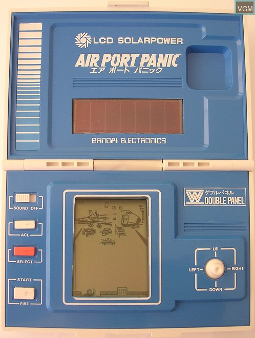 In-game screen of the game Air Port Panic on Electronic games