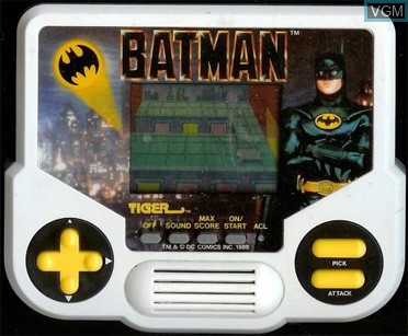 In-game screen of the game Batman on Electronic games
