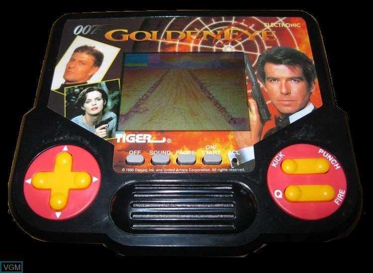 In-game screen of the game 007 - GoldenEye on Electronic games