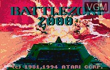Title screen of the game Battlezone 2000 on Atari Lynx