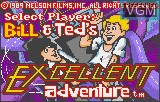 Title screen of the game Bill & Ted's Excellent Adventure on Atari Lynx