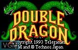 Title screen of the game Double Dragon on Atari Lynx