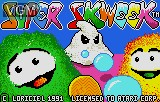 Title screen of the game Super Skweek on Atari Lynx