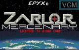 Title screen of the game Zarlor Mercenary on Atari Lynx