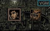 Menu screen of the game Alien Vs Predator on Atari Lynx