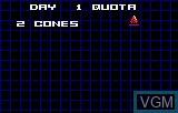 Menu screen of the game APB - All Points Bulletin on Atari Lynx