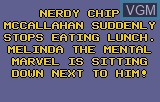 Menu screen of the game Chip's Challenge on Atari Lynx