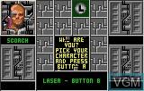 Menu screen of the game Zarlor Mercenary on Atari Lynx