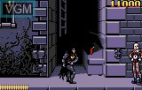 In-game screen of the game Batman Returns on Atari Lynx