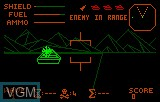 In-game screen of the game Battlezone 2000 on Atari Lynx