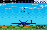 In-game screen of the game Blue Lightning Demo on Atari Lynx