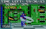 In-game screen of the game Electrocop on Atari Lynx