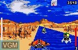 In-game screen of the game Hydra on Atari Lynx