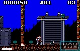 In-game screen of the game Switchblade II on Atari Lynx