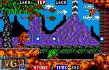 In-game screen of the game Toki on Atari Lynx