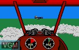 In-game screen of the game Warbirds on Atari Lynx