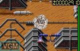 In-game screen of the game Zarlor Mercenary on Atari Lynx