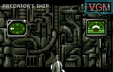 In-game screen of the game Alien Vs Predator on Atari Lynx