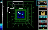 In-game screen of the game Block Out on Atari Lynx