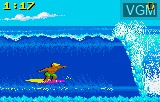 In-game screen of the game California Games on Atari Lynx