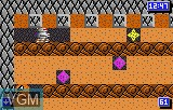 In-game screen of the game Crystal Mines II on Atari Lynx