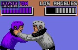 In-game screen of the game Hockey on Atari Lynx