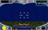 In-game screen of the game Turbo Sub on Atari Lynx