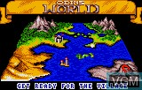 In-game screen of the game Viking Child on Atari Lynx