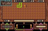 In-game screen of the game Loopz on Atari Lynx