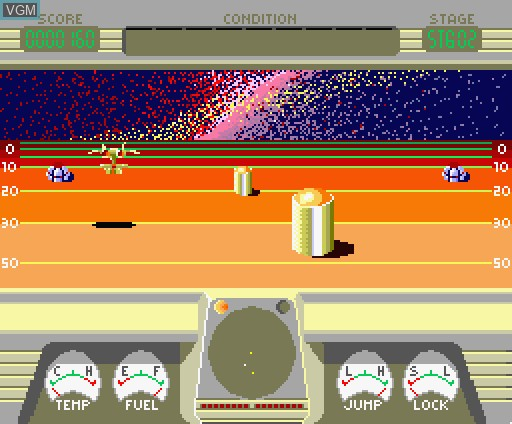In-game screen of the game 2021 Snooky! on MSX Turbo-R