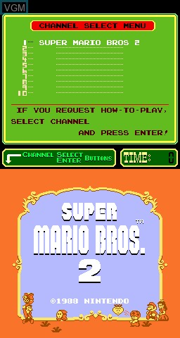 PlayChoice-10 - Super Mario Bros  2 for MAME - The Video