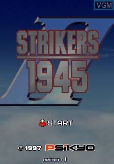 Strikers 1945 II for MAME - The Video Games Museum