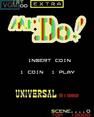 Title screen of the game Yankee DO! on MAME