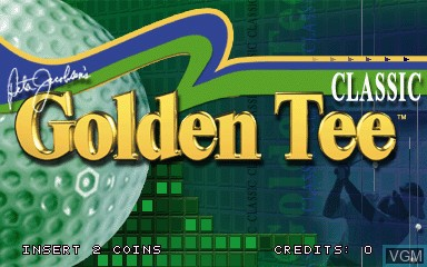 Golden Tee Classic for MAME - The Video Games Museum