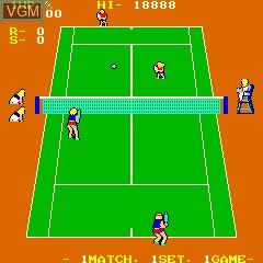 Super Doubles Tennis