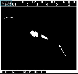 In-game screen of the game Embargo on MAME