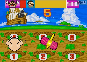 In-game screen of the game Animalandia Jr. on MAME