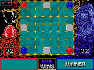 In-game screen of the game Ataxx on MAME