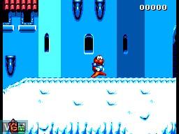 Menu screen of the game James Pond 2 - Codename Robocod on Sega Master System