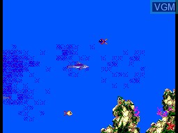 In-game screen of the game Ecco the Dolphin on Sega Master System