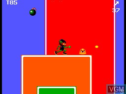 In-game screen of the game Zool on Sega Master System