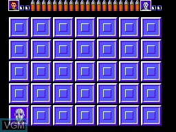 In-game screen of the game Assault City - Pad Version on Sega Master System