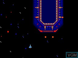 In-game screen of the game Blade Eagle 3D on Sega Master System