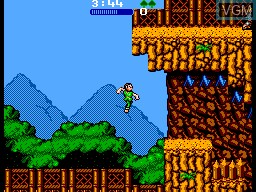 In-game screen of the game Hook on Sega Master System