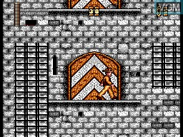 In-game screen of the game Indiana Jones and the Last Crusade on Sega Master System