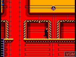 In-game screen of the game James Bond 007 - The Duel on Sega Master System