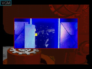 Menu screen of the game Power Factory Featuring C+C Music Factory on Sega Mega CD