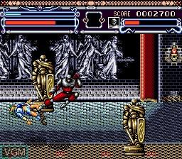 In-game screen of the game Annet Futabi on Sega Mega CD