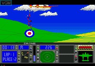 In-game screen of the game Racing Aces on Sega Mega CD