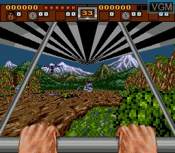 In-game screen of the game 3 Ninjas Kick Back on Sega Mega CD